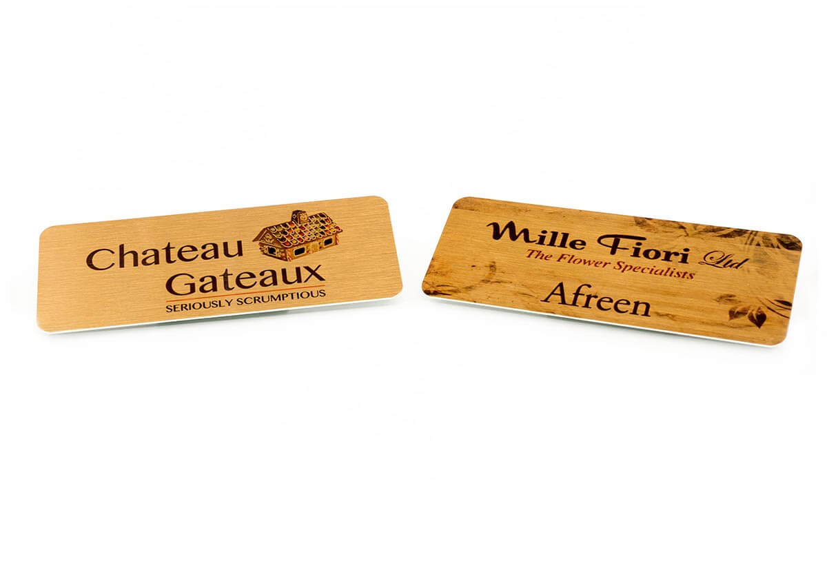 Custom & Personalised Name Badges, Professional Name Tags