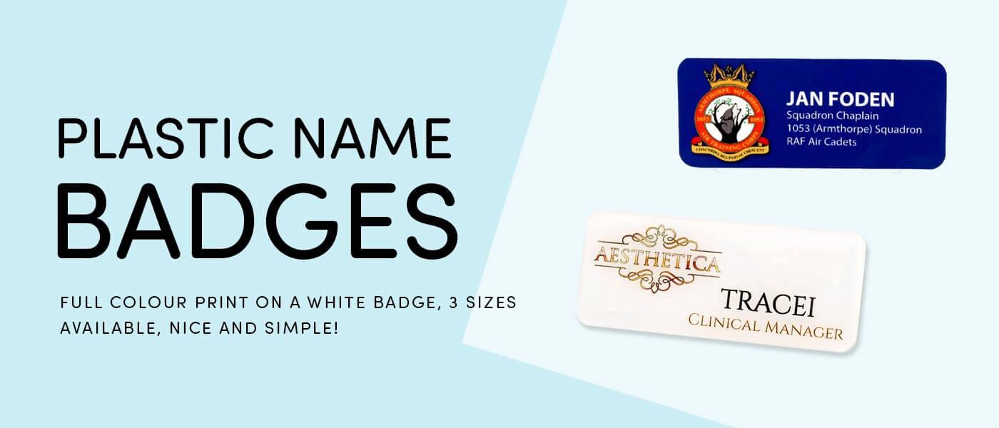 Custom & Personalised Name Badges, Professional Name Tags